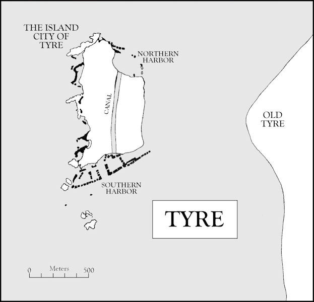 Map 2, Tyre